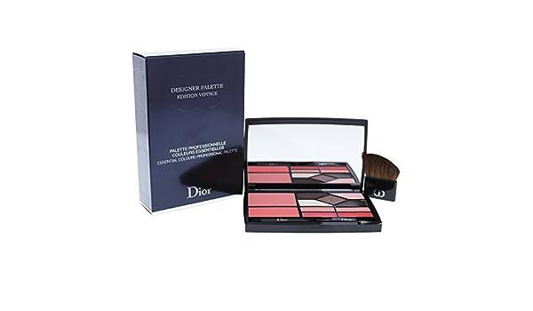 Christian Dior Designer Palette Edition Voyage (2x Blush, 5x Eyeshadow, 4x Lip Color, 3x Applicator) 18.2g/0.59oz: Amazon.es: Belleza
