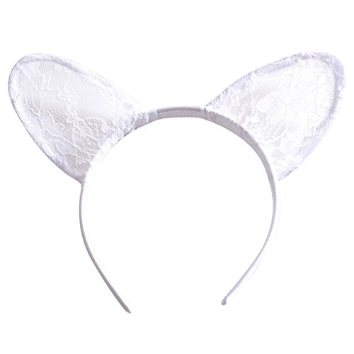 Lace Loin Cat Ears Girls Headbands Girls Adult Daily Wearing Party Cosplay Favor Hair Crown Hoop Headwear Hair Accessories Holiday Xmas Halloween Costumes For Women Decorations Low Price Gift ()