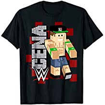 WWE John CenA Minecraft Figure Graphic T-Shirt