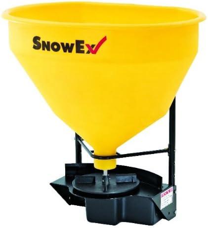SnowEx SR210 3 Cubic Foot 12 Volt Wireless Remote Control Snow and Ice Melt Hitch Mount Broadcast Rock Salt Spreader