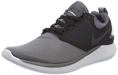 012 Running black dark Grey multi Lunarsolo Scarpe color Grigio Uomo Nike UxvwAqp