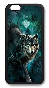 Custom Animals Design Wolf Wolves Cell Phone Cover Case for iPhone 6 Plus 5.5 TT1 by runtopwell
