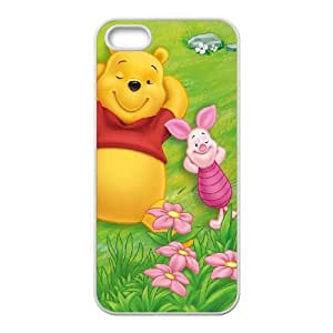 iPhone 5,5S Phone Case White Many Adventures of Winnie the Pooh UYUI6752376