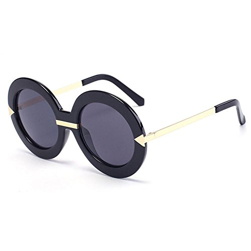 de Alger redondo arrow Anti Moda Polarized Marco Gafas de A mujer beat UV D Gafas travel sol Street 55rgSYq