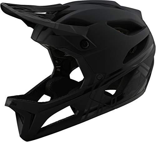 Troy Lee Designs Enduro MTB-helm Stage MIPS Stealth – zwart/zilver