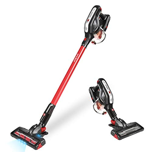 Cordless Vacuum Cleaner, Powerful Stick Handheld Vacuum Cleaner, Lightweight Floor and Carpet Vacuum with Rechargeable Lithium Ion Battery