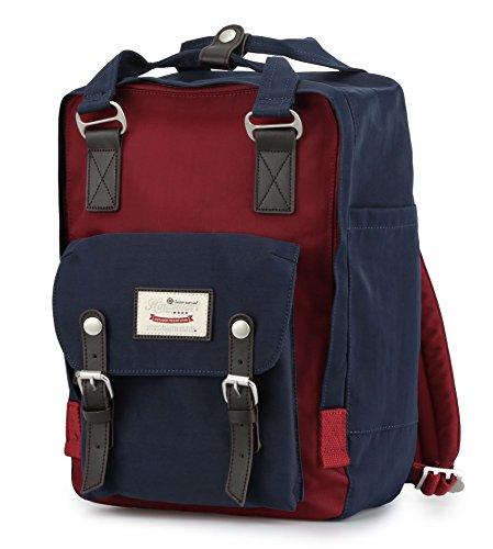Himawari Doughut backpack Laptop Backpack College Backpack School Bag 14.9