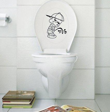Liroyal Toilet Seat Decal Art Sticker
