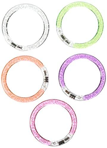 OliaDesign Flashing LED Bubble Bracelet - 12 pack