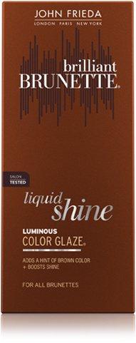 John Frieda Brilliant Brunette Luminous Color Glaze, Chestnut to Espresso, 6.5-Ounce Bottle (Pack of 2) by John Frieda