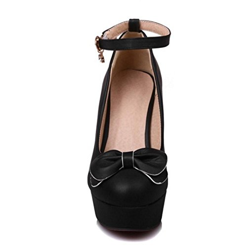 Shoes Heels Women KemeKiss Pumps 2 High Trendy Black CRvwUqfx