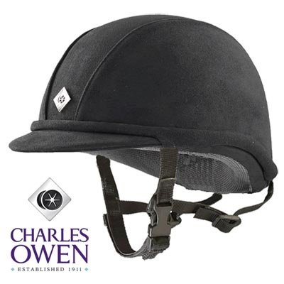 Charles Owen JR8 Black/Black 7 1/4