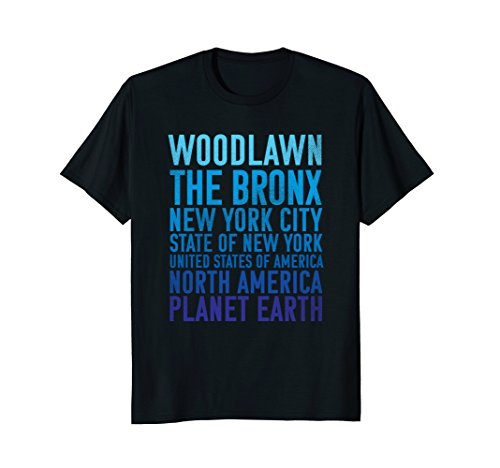 Woodlawn Shirt : The Bronx New York Earth Bronx Tshirt