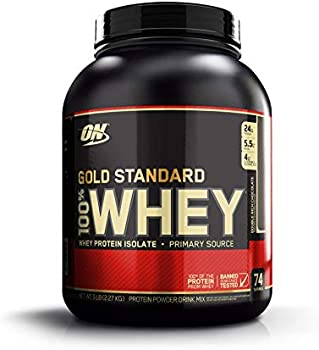 15lb (2 x 5lb) Optimum Nutrition Gold Standard 100% Whey Protein Powder