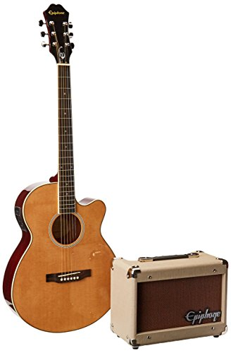 Epiphone PR-4E Acoustic/Electric Guitar Player Package by Epiphone