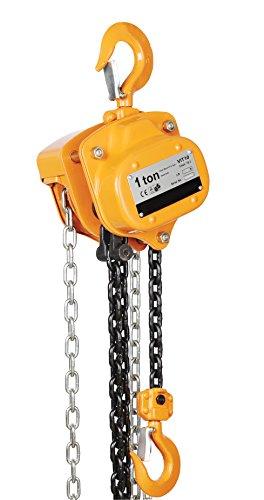 Vestil PHCH-1-10 Yellow Professional Chain Hoist, 1000 lb. Capacity, 10' (Phch)