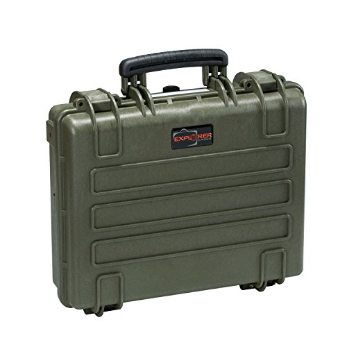 Explorer Cases 4412 GE Waterproof Dustproof Multi-Purpose Protective Case Empty, Military Green by Explorer Cases