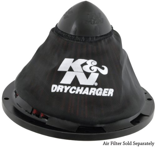 K&N RC-5052DK Drycharger Black Air Filter Wrap