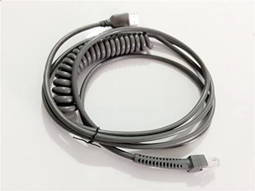 Amazon Symbol Ls2208 Usb Cable Spiral Extension Cable 3mtr