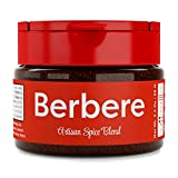 USimplySeason Berbere Spice, 2.4 oz bottle - ALL Natural Spicy Vegan Ethiopian Seasoning