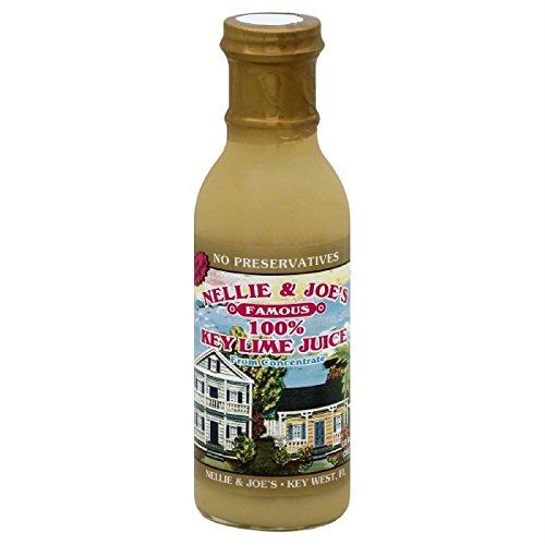 Nellie and Joe#039s 100% Key Lime Juice 12oz Glass