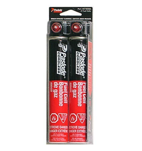 Paslode 816000 Tall Red Fuel Cell 2-Pack by (Paslode Cordless Fuel Cell)