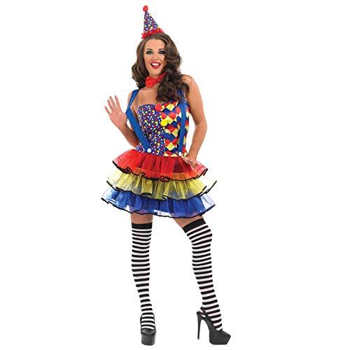 fun shack Womens Clown Tutu Dress Small -