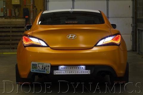 Diode Dynamics Tail as Turn & Backup Module w/ HP11 & HP36 Bulbs for 2013-16 Hyundai Genesis Coupe by Diode Dynamics