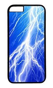 iPhone 6 Case,VUTTOO Stylish Lightning Bolt Hard Case For Apple iPhone 6 (4.7 Inch) - PC Black