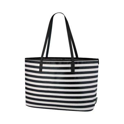 DwellStudio for Thermos, Madison Diaper Bag, Mini Stripe