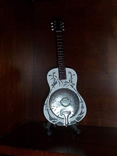 Mini Guitarra DIRE STRAITS MARK KNOPFLER Resonator Figurilla ...