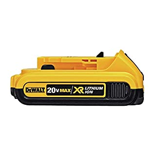 DEWALT DCB203 20V Max 2.0AH Compact Li-Ion Battery Pack, Yellow, 7.00in. x 7.00in. x 3.00in. (B00BYKVMES) | Amazon price tracker / tracking, Amazon price history charts, Amazon price watches, Amazon price drop alerts