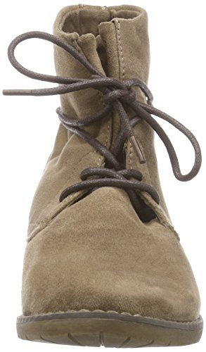 Jane Klain 252 169 - botas desert de terciopelo mujer marrón - Braun (Stone 288)