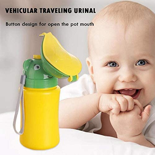 Girl Leak Proof Emergency Toilet for Car Travel Camping Toddler Pee Training Cup Hamkaw Portable Urinal for Kids