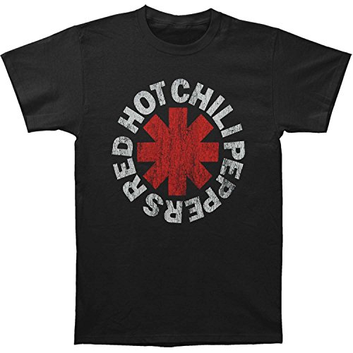 Red Hot Chili Peppers- Vintage Distressed Logo T-Shirt Size XXL