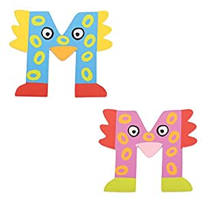 Tatiri TA513 madera letra de pájaro loco M (el envío incluye sólo una pieza - intervención puede variar)