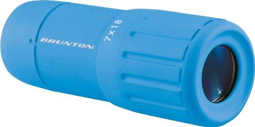 Brunton 7X18 Echo Pocket Scope, Blue (Brunton Adapter)