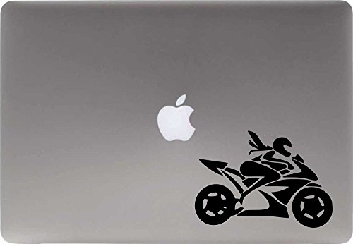 Woman Rider Bike Vinyl Decal Sticker for Computer Macbook Laptop Ipad Electronics Home Window Custom Walls Cars Trucks Motorcycle Automobile and More - Goggles Online Shopping Ladies