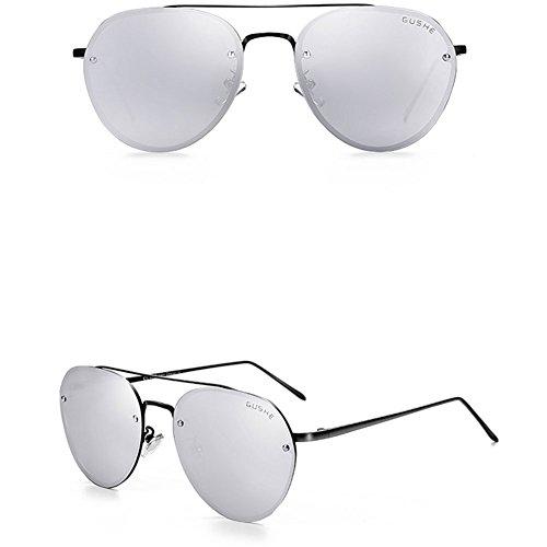 de Sol Estilo Color Masculinas Gafas Gafas de 5 Mirror Polarizing Nuevo Sol Driving DT Driver S15w8y