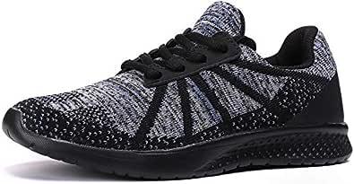 Kuzima Boys Casual Sports Shoes Multi Size: 3.5 Big Kid Black/Blue