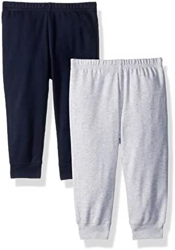 The Children's Place Baby Boys' Basic Pants (2-Pack)