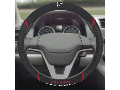 Fanmats 15040 Steering Wheel Cover NFL (Atlanta Falcons)