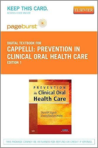 Prevention in Clinical Oral Health Care - E-Book