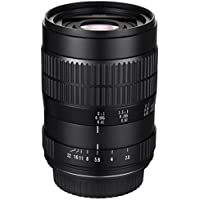 Oshiro 60mm f/2.8 2:1 LD UNC Manual Ultra-Macro Lens for Nikon D5, D4S, DF, D4, D3X, D810, D800, D750, D610, D600, D500, D7200, D7100, D5500, D5300, D5200, D3300, D3200 and D3100 Digital SLR Cameras
