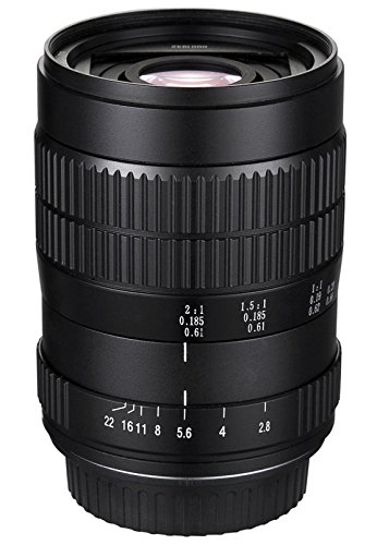 Oshiro 60mm f/2.8 2:1 LD UNC Manual Ultra-Macro Lens for ...