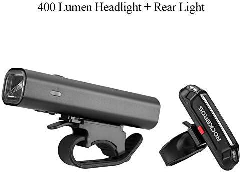 NO LOGO ZQYBH ROCKBROS 400LM Linterna de la luz de la Bici del ...