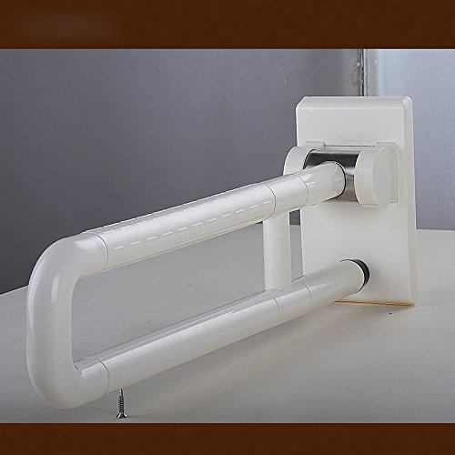 MDRW-Bathroom Handrail Barrier-Free Armrest Health Bathroom Stainless Steel Nylon Security Anti-Slip Barrier-Free Facilities Armrest 600Mm by Olici (Image #2)'