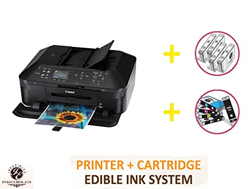 YummyInks Brand DELUXE PACKAGE 1: YummyInks Brand CANON MX922 BUNDLED PRINTING SYSTEM - INCLUDES EXTRAS