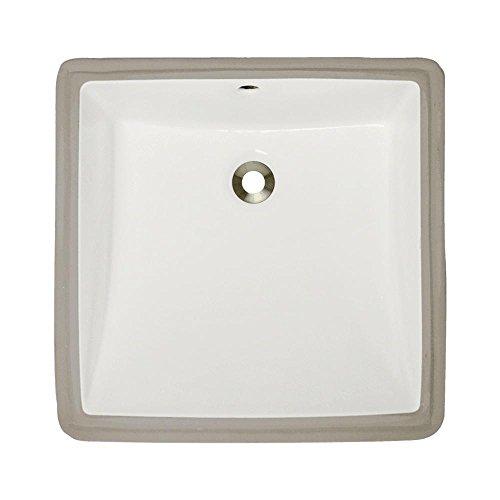 Bisque Only (U2230-Bisque Undermount Porcelain Bathroom Sink, Sink Only)