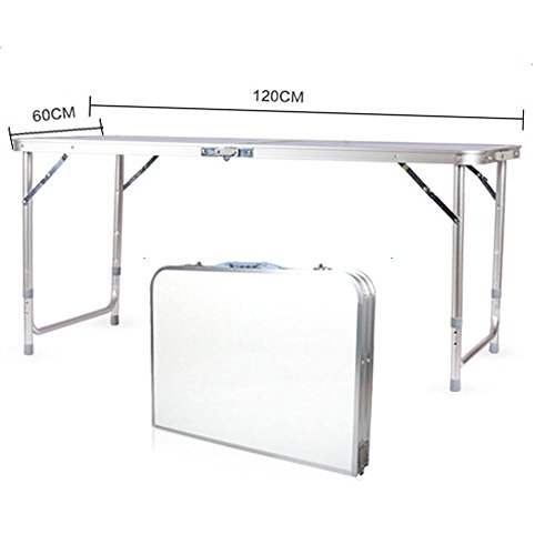 TimmyHouse Folding Table Portable 4FT Desk Outdoor Garden Camping Dining Party BBQ Aluminum (Outdoor Australia Furniture Bunnings)